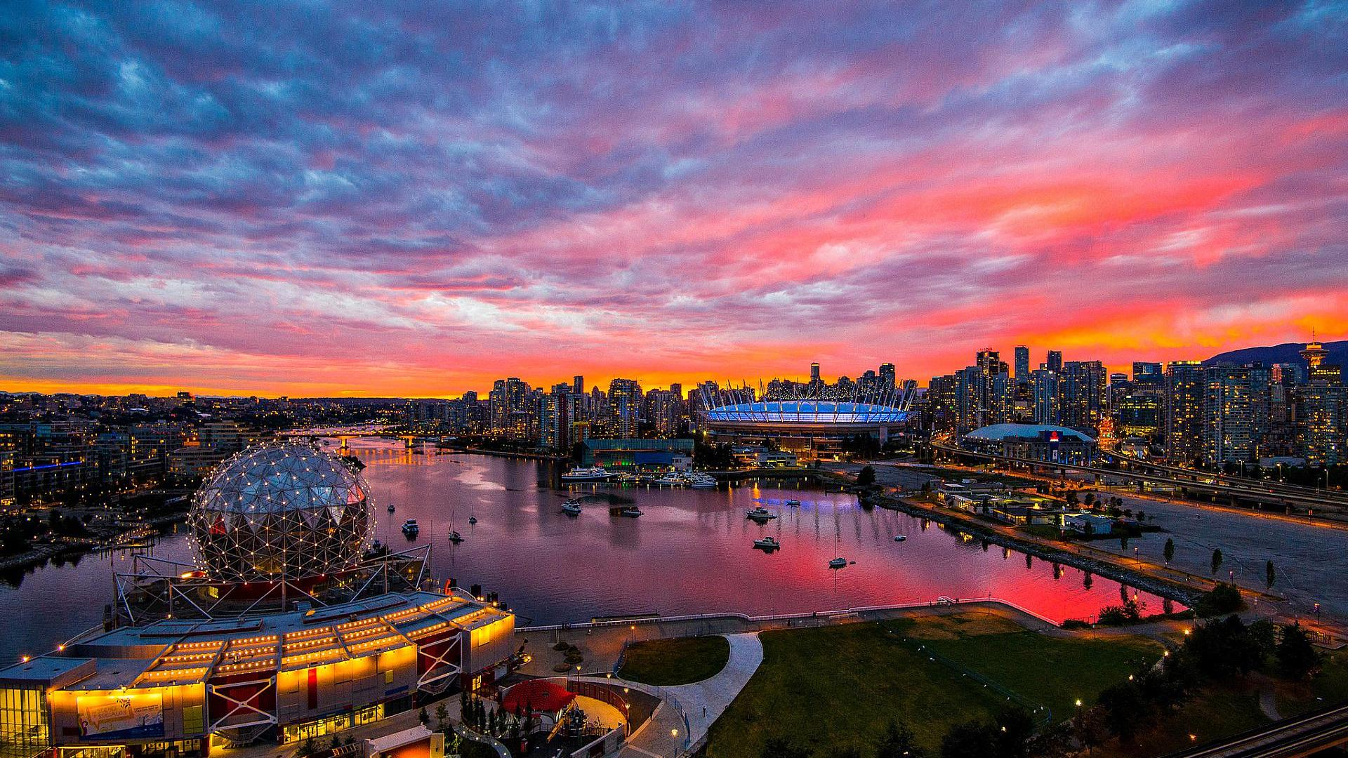 vancouver wallpaper full screen high resolution download free